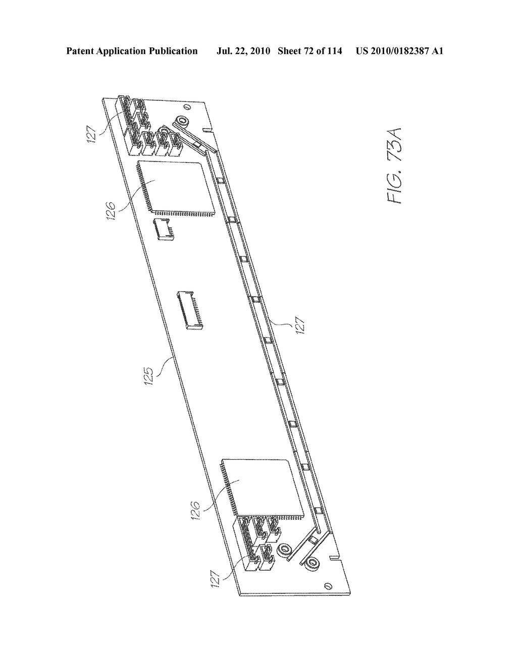 RESERVOIR ASSEMBLY FOR SUPPLYING FLUID TO PRINTHEAD - diagram, schematic, and image 73
