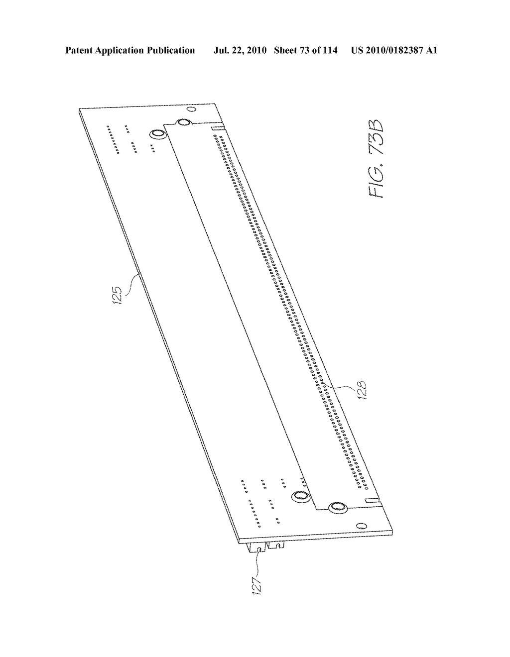 RESERVOIR ASSEMBLY FOR SUPPLYING FLUID TO PRINTHEAD - diagram, schematic, and image 74