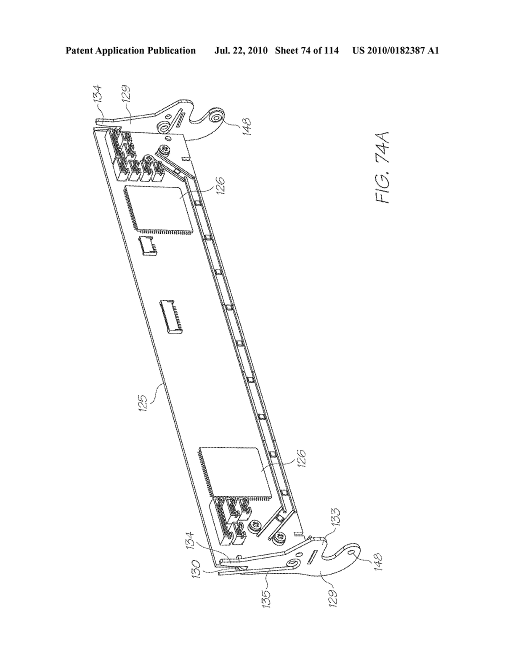 RESERVOIR ASSEMBLY FOR SUPPLYING FLUID TO PRINTHEAD - diagram, schematic, and image 75