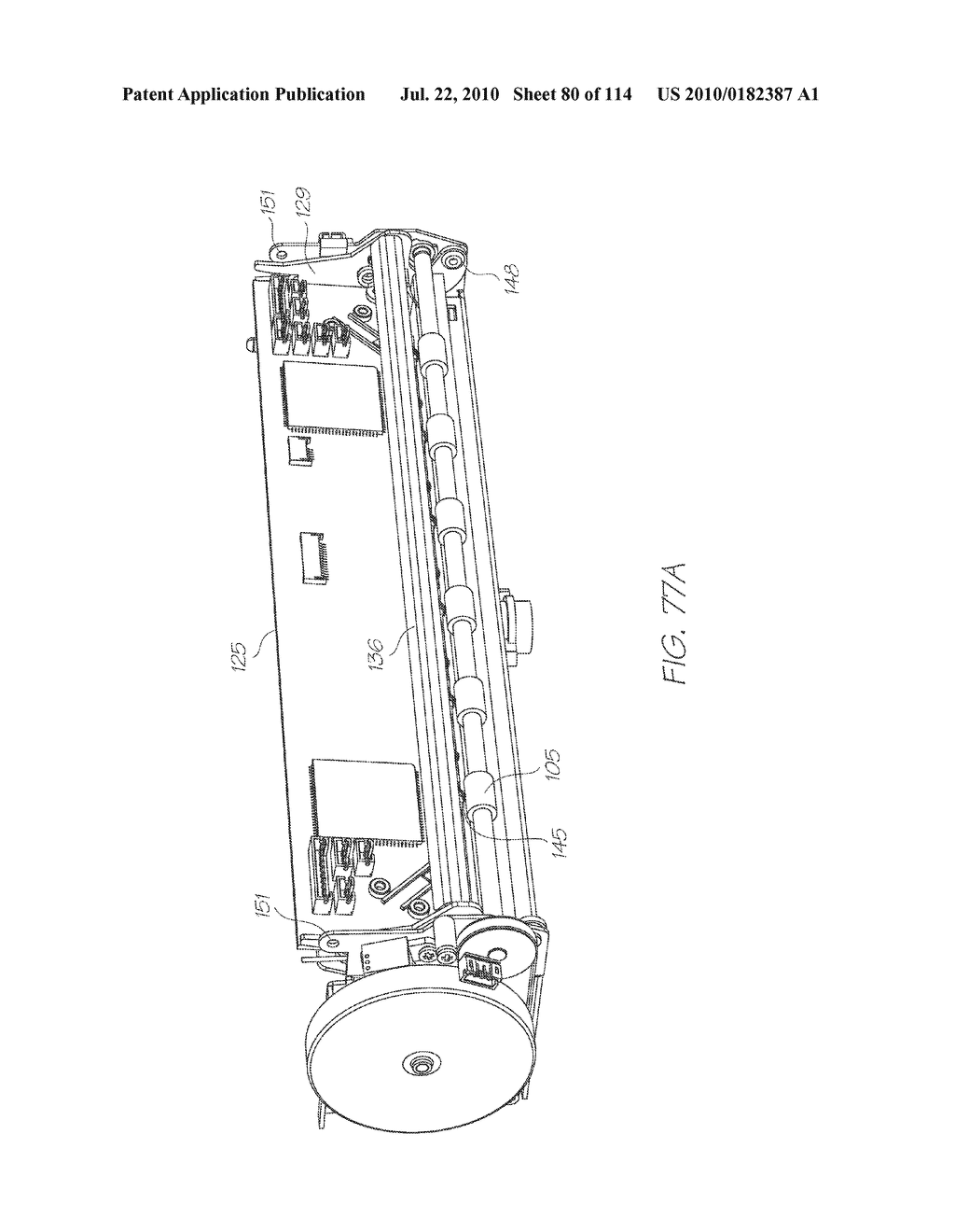 RESERVOIR ASSEMBLY FOR SUPPLYING FLUID TO PRINTHEAD - diagram, schematic, and image 81