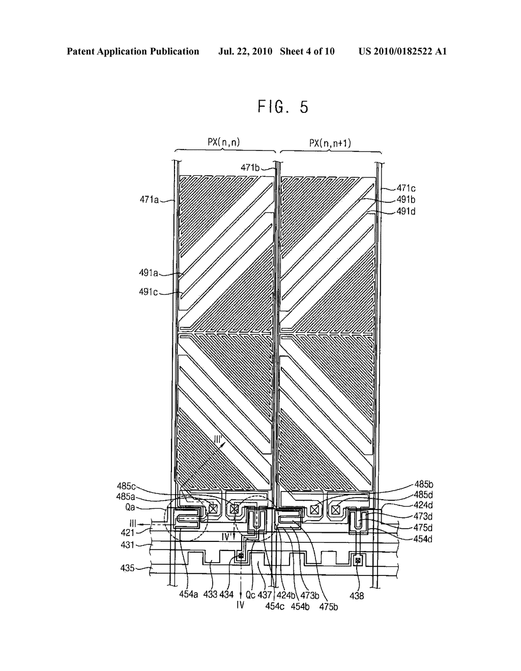 ARRAY SUBSTRATE AND METHOD OF MANUFACTURING THE SAME - diagram, schematic, and image 05