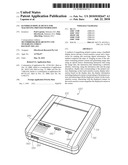 HANDHELD DISPLAY DEVICE FOR MAGNIFYING PRINTED INFORMATION diagram and image