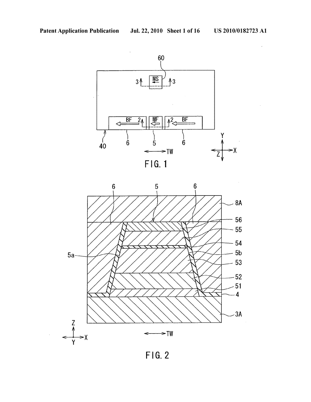 Magnetic detector including magnetoresistive element and impact sensor - diagram, schematic, and image 02