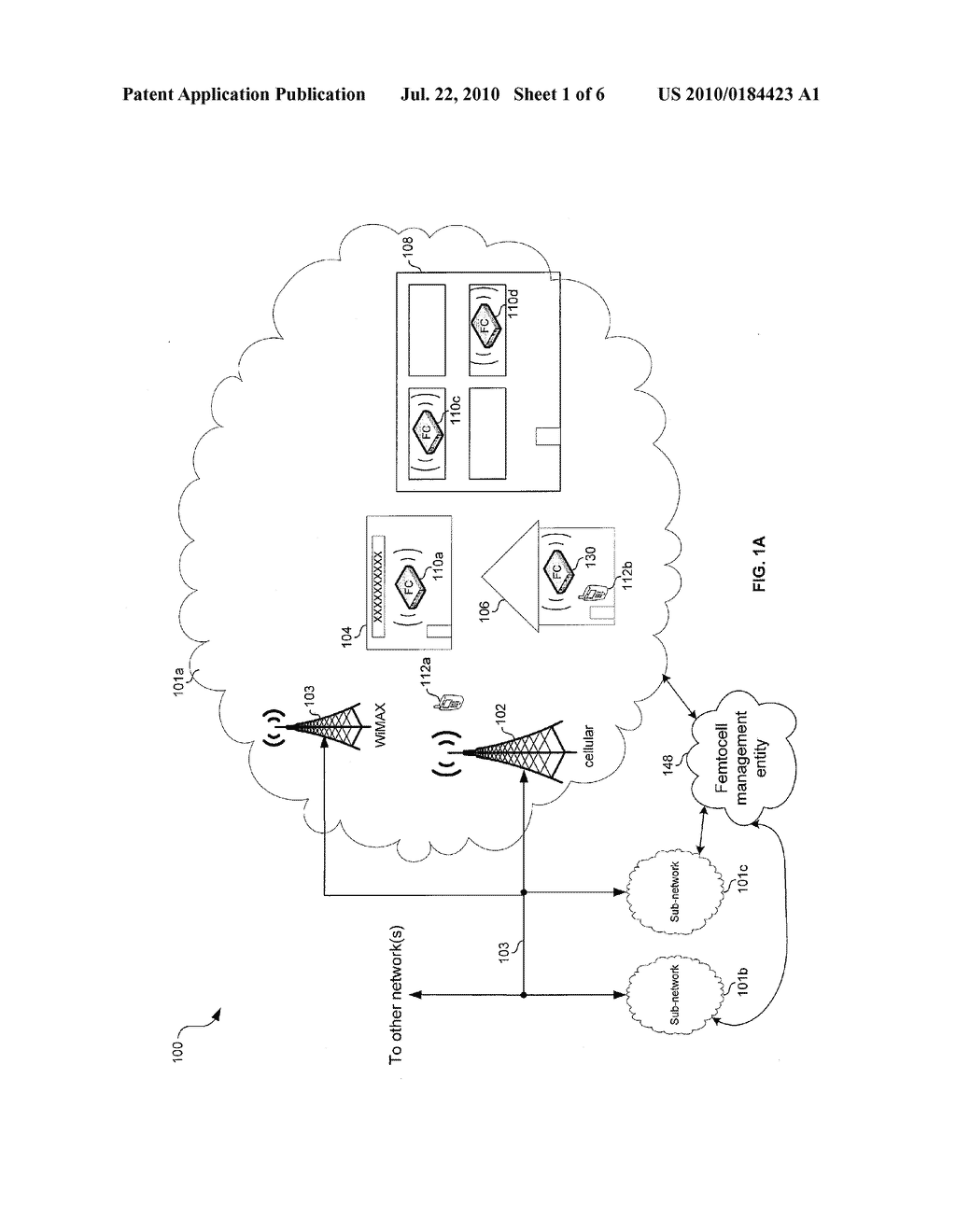 METHOD AND SYSTEM FOR INSTALLATION AND CONFIGURATION OF A FEMTOCELL - diagram, schematic, and image 02