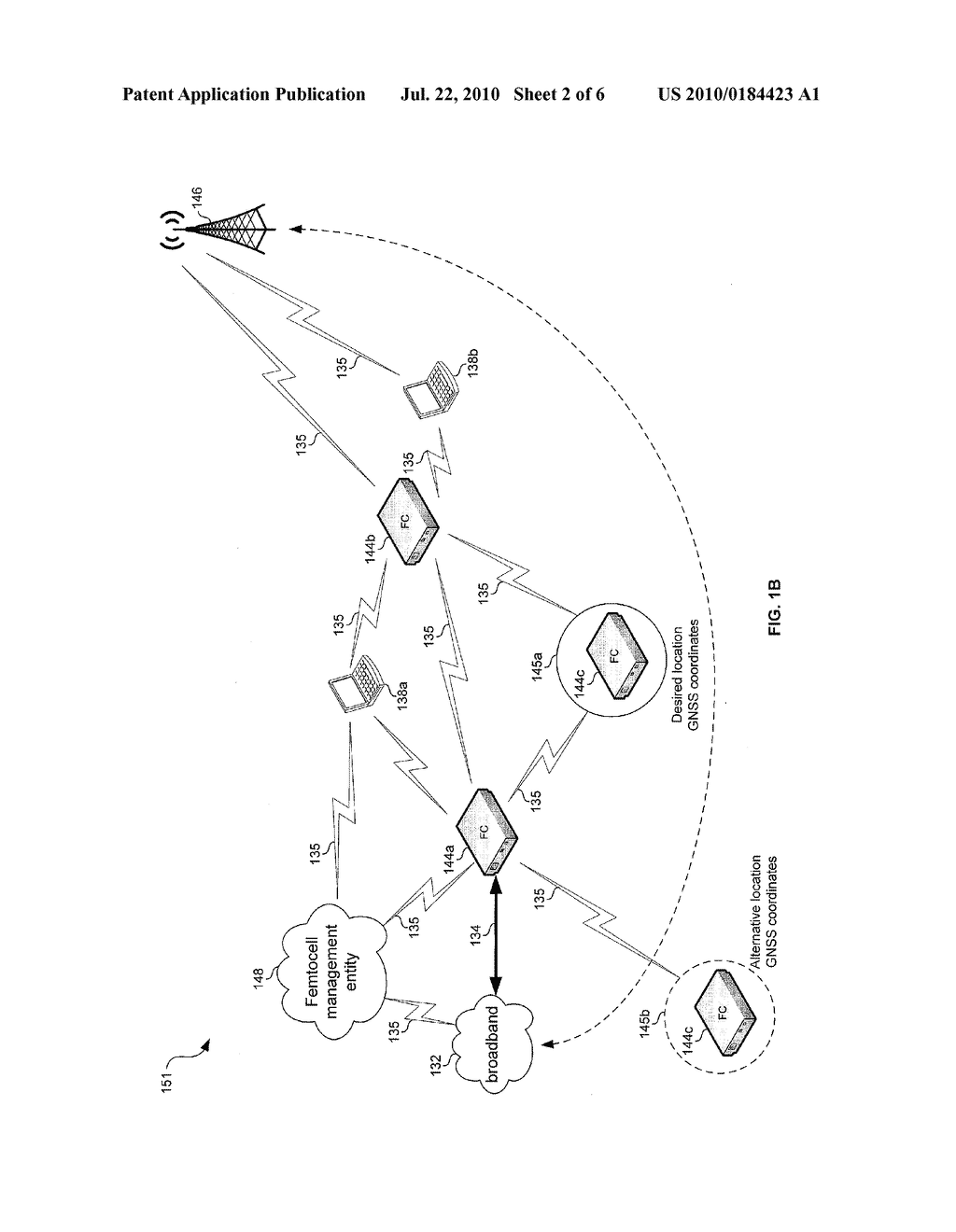 METHOD AND SYSTEM FOR INSTALLATION AND CONFIGURATION OF A FEMTOCELL - diagram, schematic, and image 03