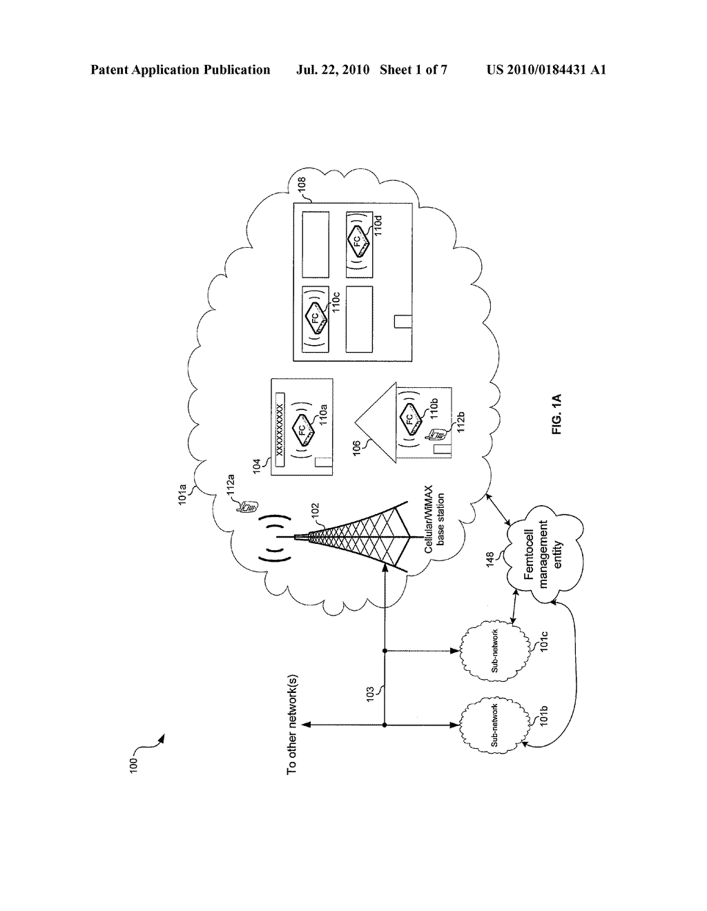Method and System for Registering Femtocells to Provide Service - diagram, schematic, and image 02