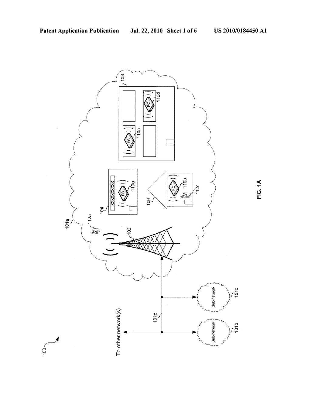 METHOD AND SYSTEM FOR CONTROLLING PARAMETERS OF A COMMUNICATION CHANNEL BETWEEN A FEMTOCELL AND A CELLULAR ENABLED COMMUNICATION DEVICE - diagram, schematic, and image 02