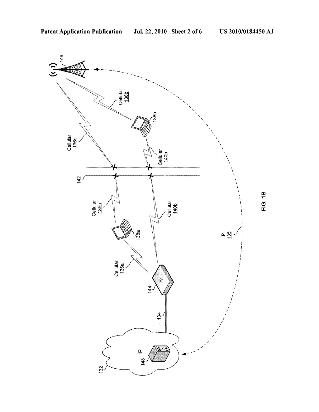 METHOD AND SYSTEM FOR CONTROLLING PARAMETERS OF A COMMUNICATION CHANNEL BETWEEN A FEMTOCELL AND A CELLULAR ENABLED COMMUNICATION DEVICE - diagram, schematic, and image 03