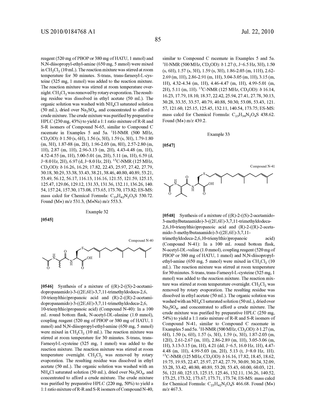 Isoprenyl Compounds and Methods Thereof - diagram, schematic, and image 100
