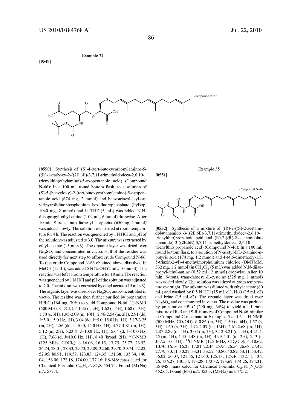 Isoprenyl Compounds and Methods Thereof - diagram, schematic, and image 101