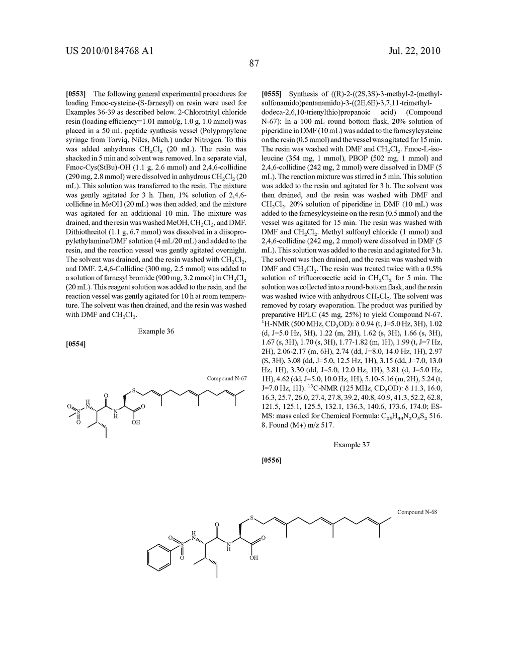 Isoprenyl Compounds and Methods Thereof - diagram, schematic, and image 102