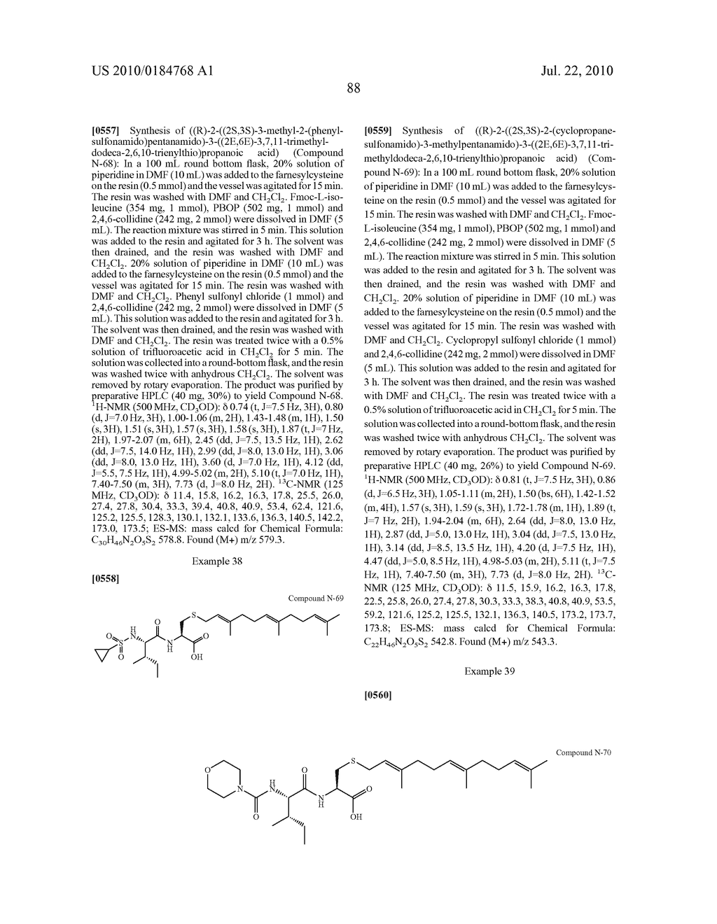 Isoprenyl Compounds and Methods Thereof - diagram, schematic, and image 103
