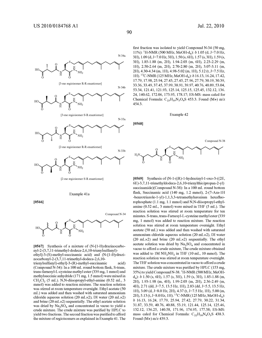 Isoprenyl Compounds and Methods Thereof - diagram, schematic, and image 105
