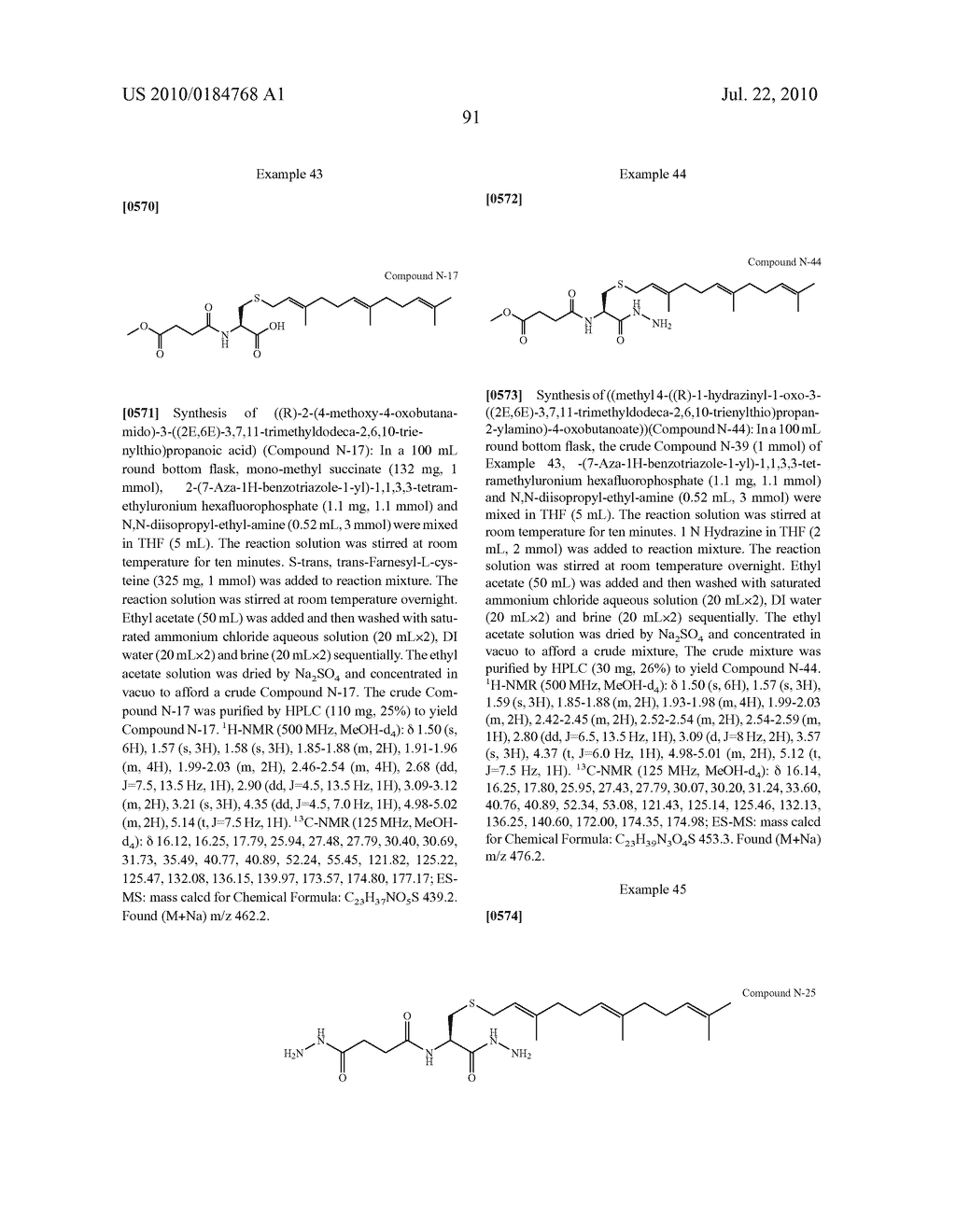 Isoprenyl Compounds and Methods Thereof - diagram, schematic, and image 106