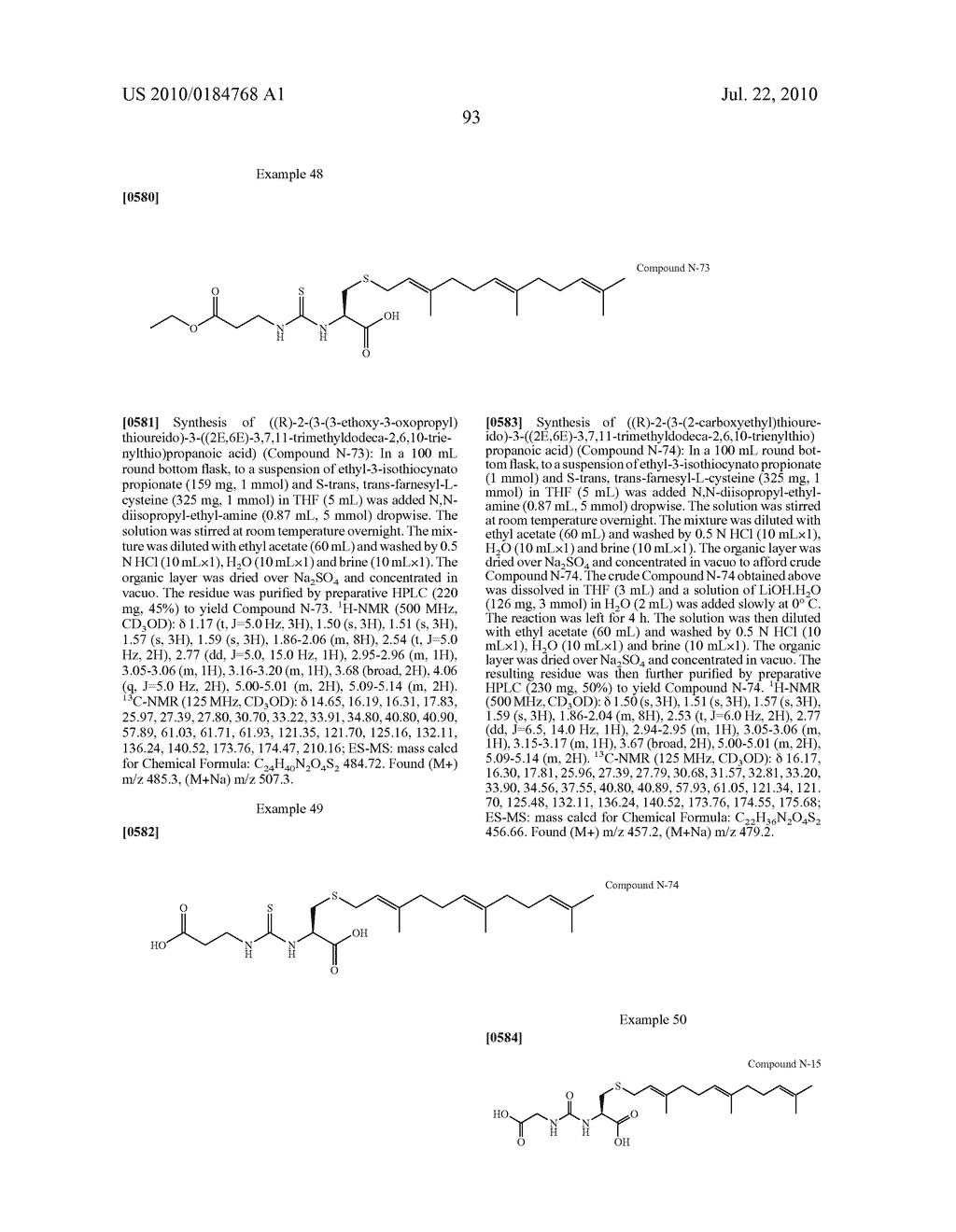 Isoprenyl Compounds and Methods Thereof - diagram, schematic, and image 108