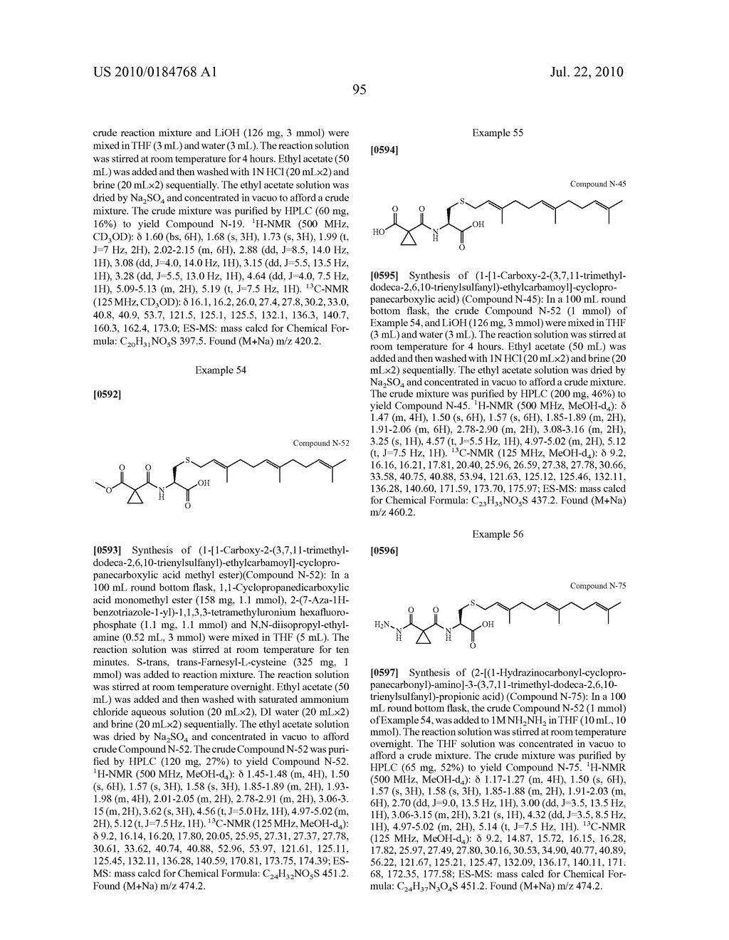 Isoprenyl Compounds and Methods Thereof - diagram, schematic, and image 110
