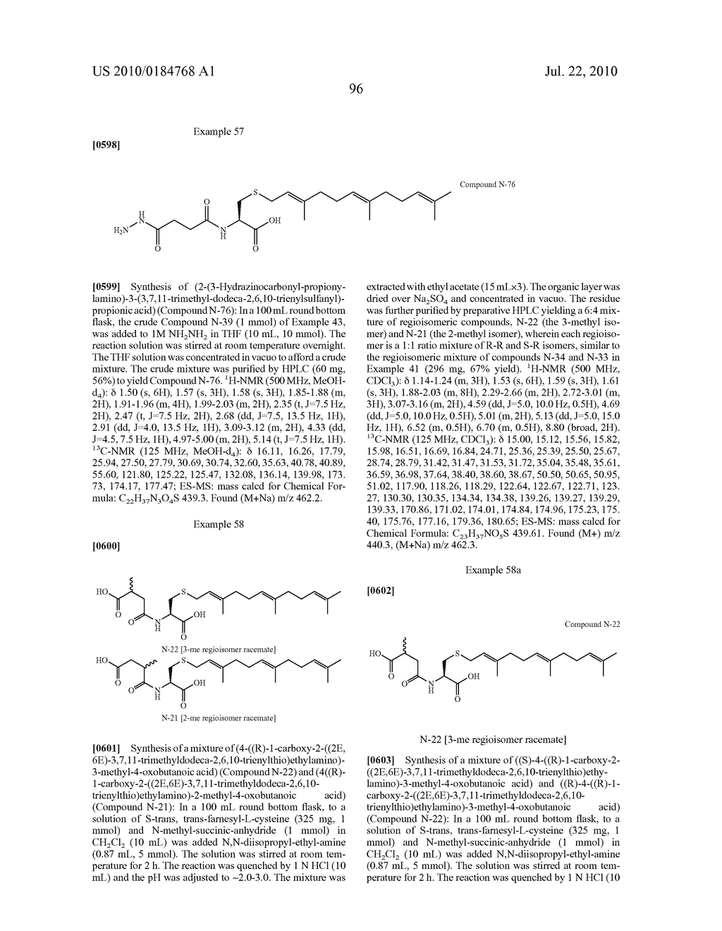 Isoprenyl Compounds and Methods Thereof - diagram, schematic, and image 111