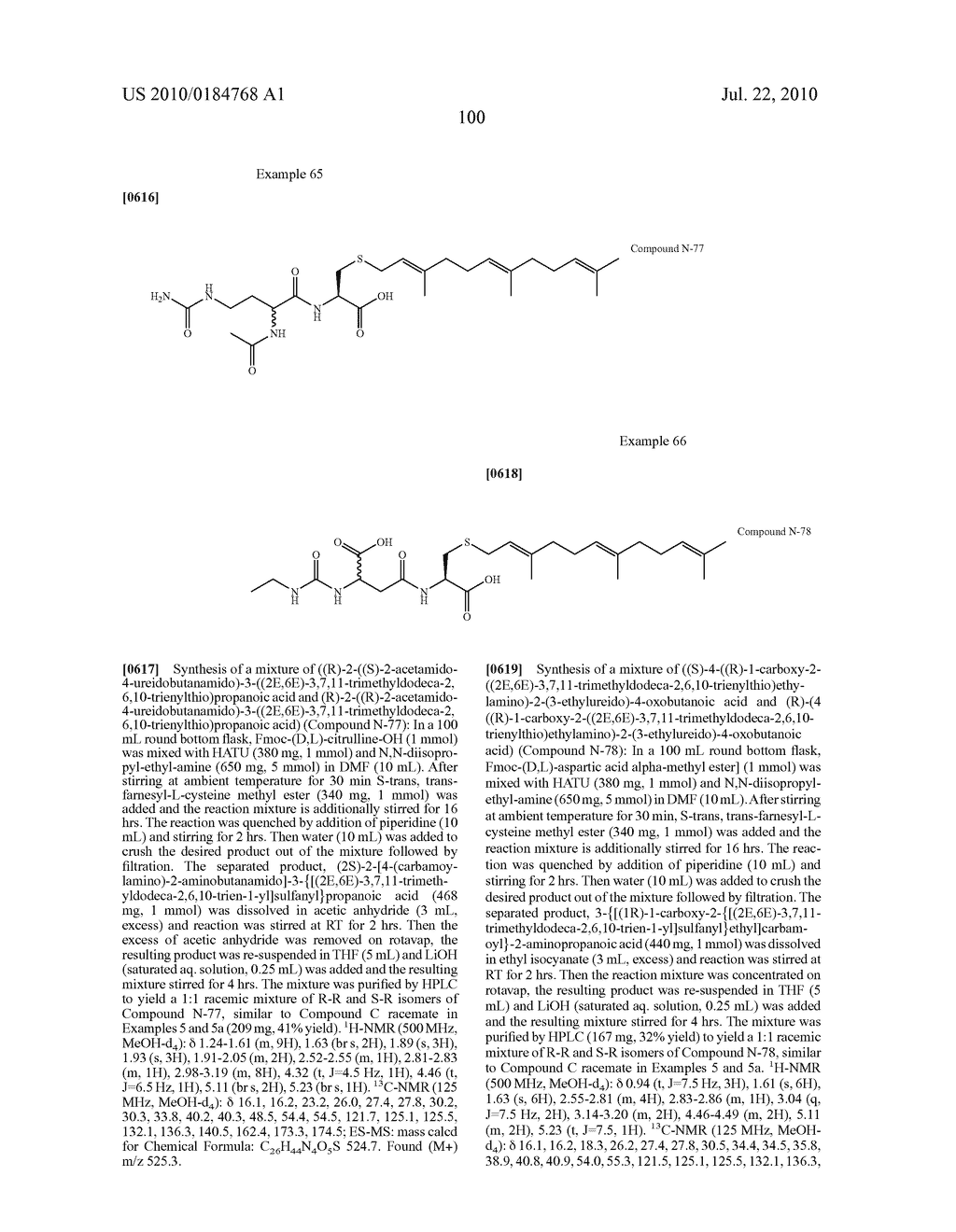 Isoprenyl Compounds and Methods Thereof - diagram, schematic, and image 115