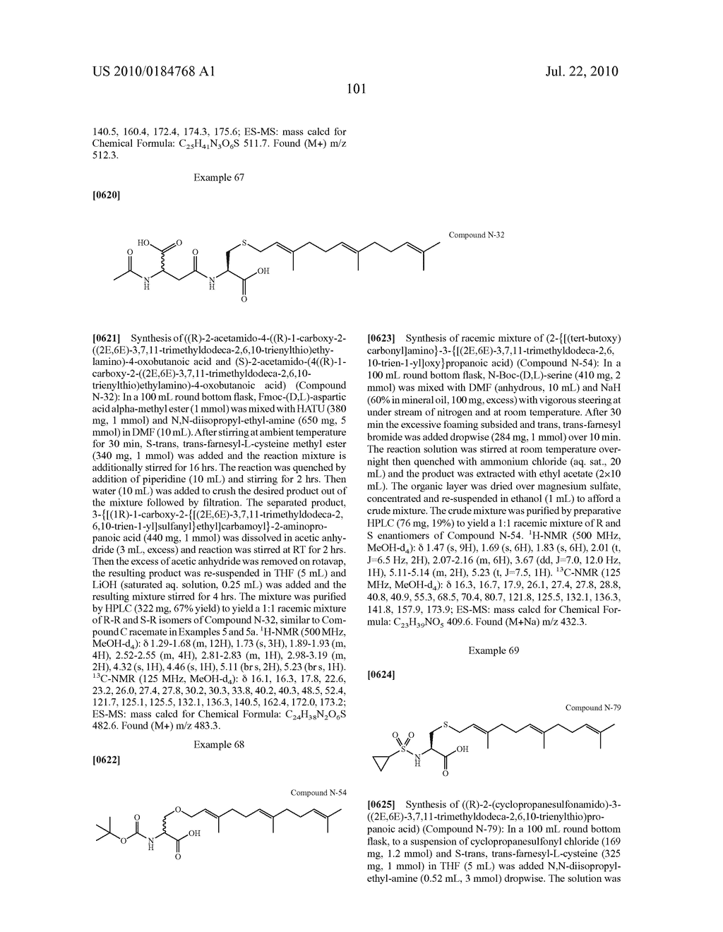 Isoprenyl Compounds and Methods Thereof - diagram, schematic, and image 116