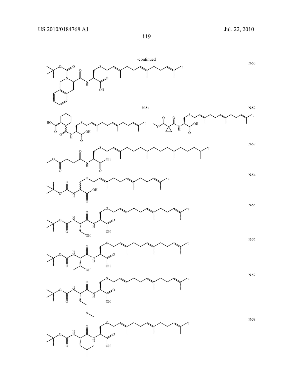 Isoprenyl Compounds and Methods Thereof - diagram, schematic, and image 134