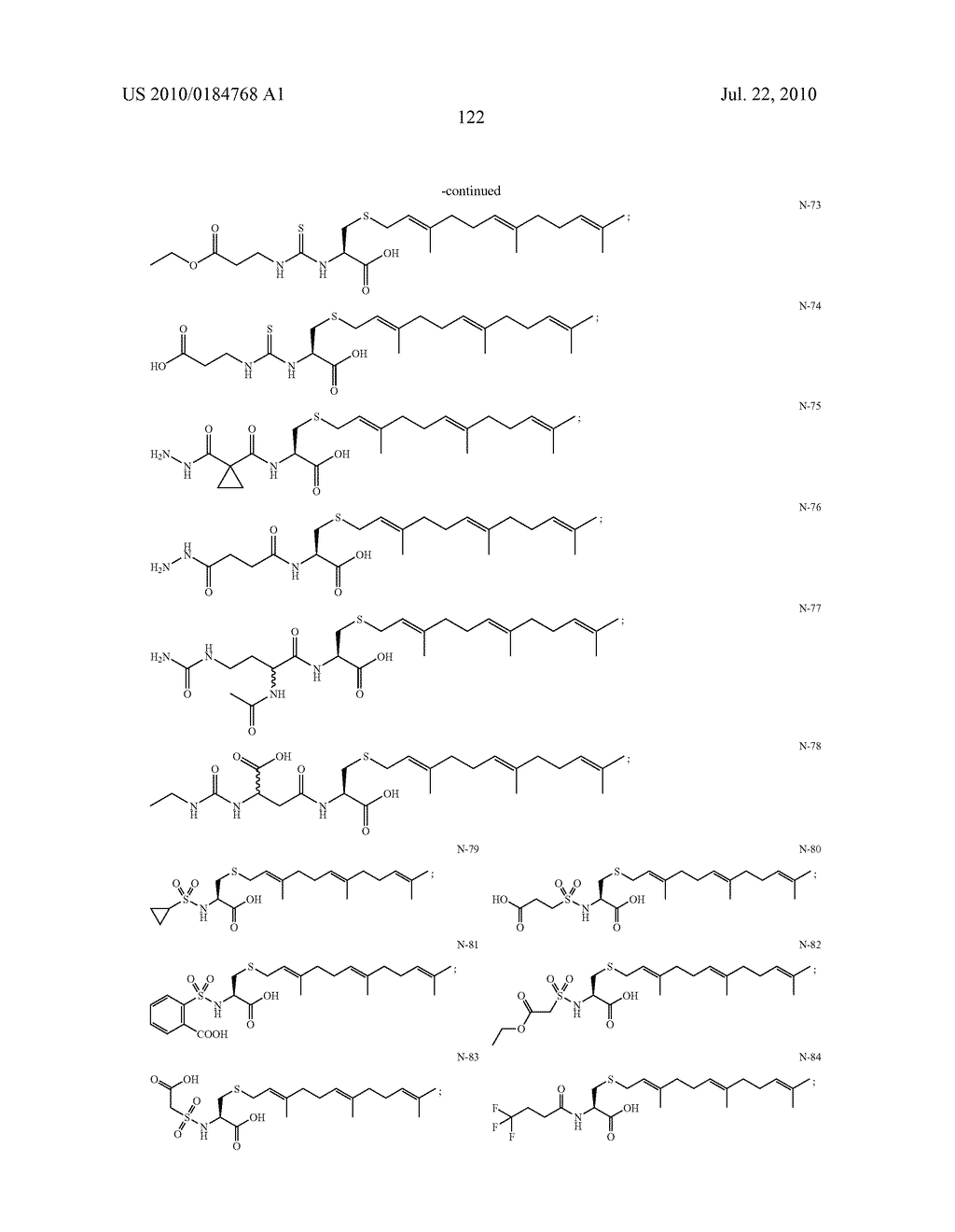 Isoprenyl Compounds and Methods Thereof - diagram, schematic, and image 137
