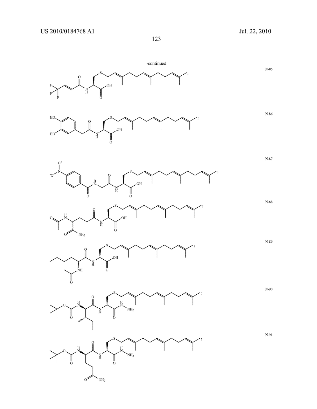 Isoprenyl Compounds and Methods Thereof - diagram, schematic, and image 138
