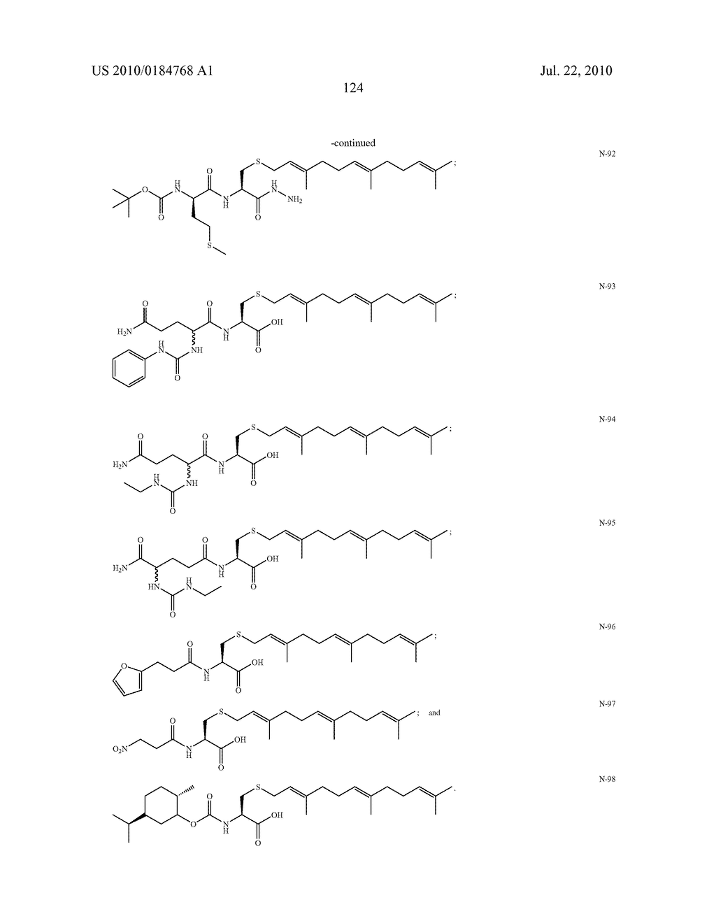 Isoprenyl Compounds and Methods Thereof - diagram, schematic, and image 139