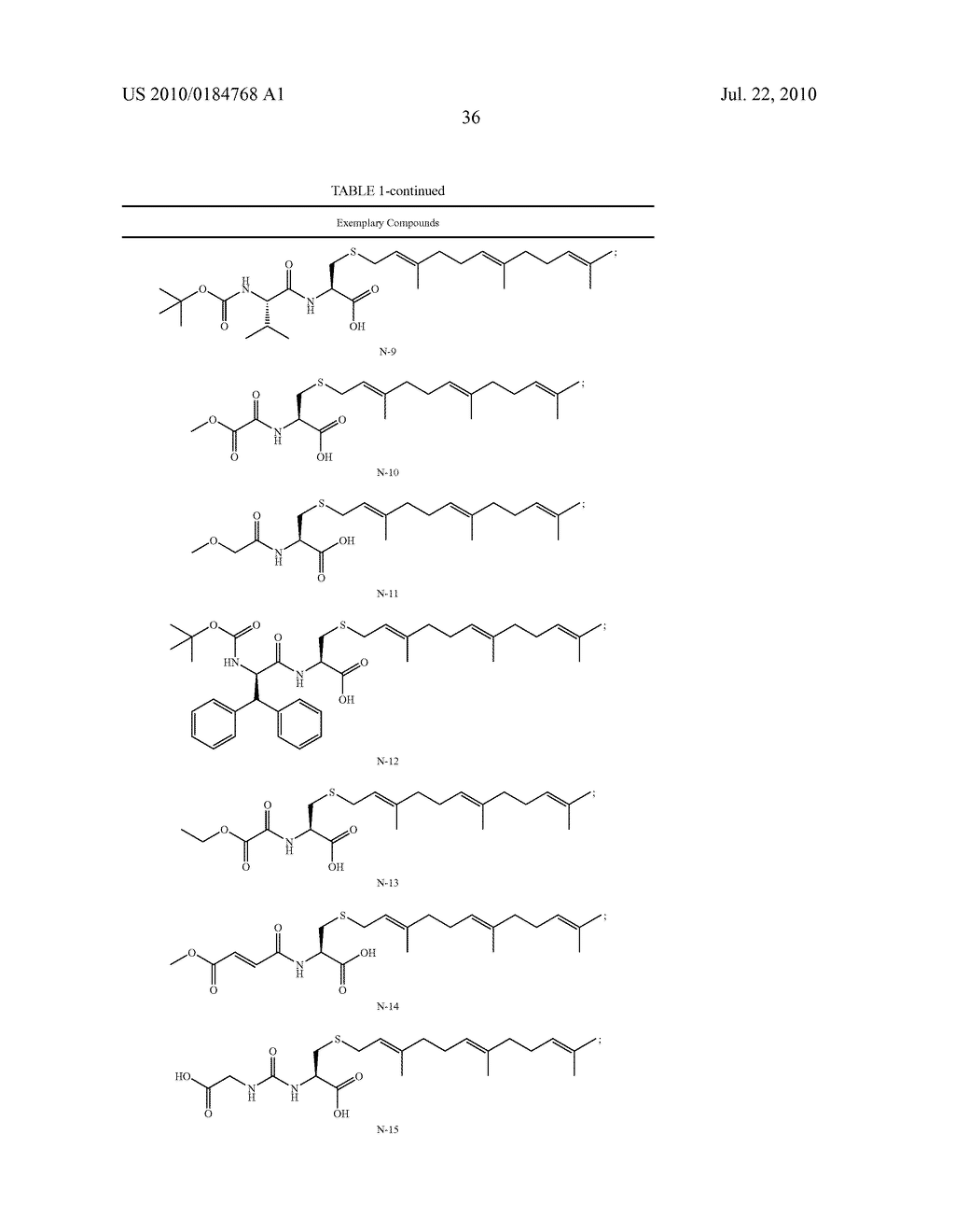 Isoprenyl Compounds and Methods Thereof - diagram, schematic, and image 51