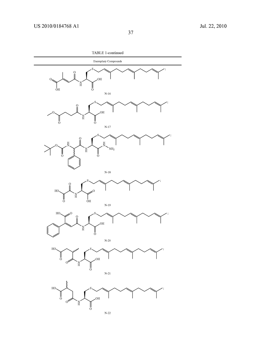 Isoprenyl Compounds and Methods Thereof - diagram, schematic, and image 52