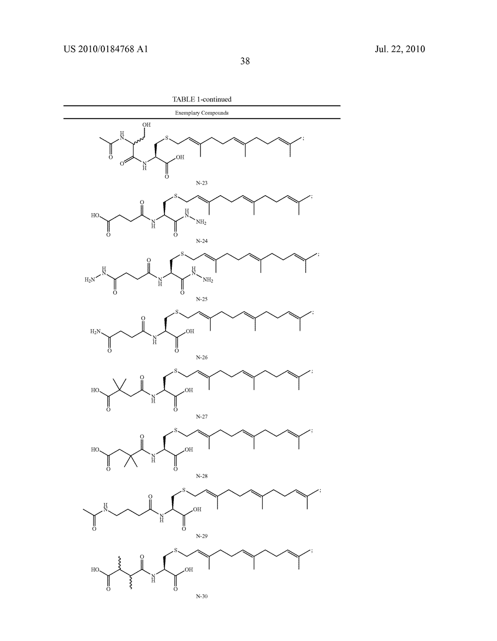 Isoprenyl Compounds and Methods Thereof - diagram, schematic, and image 53