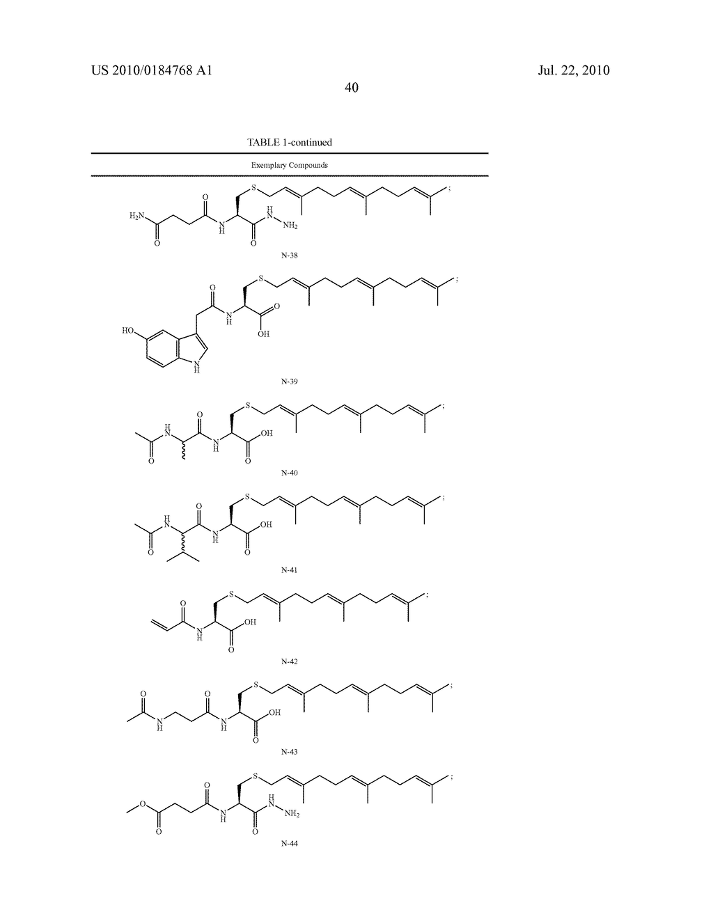 Isoprenyl Compounds and Methods Thereof - diagram, schematic, and image 55