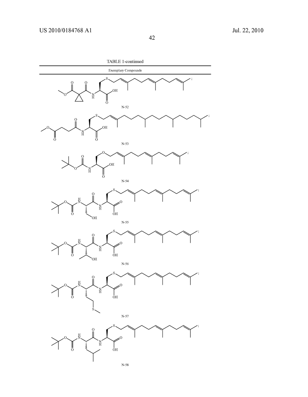 Isoprenyl Compounds and Methods Thereof - diagram, schematic, and image 57