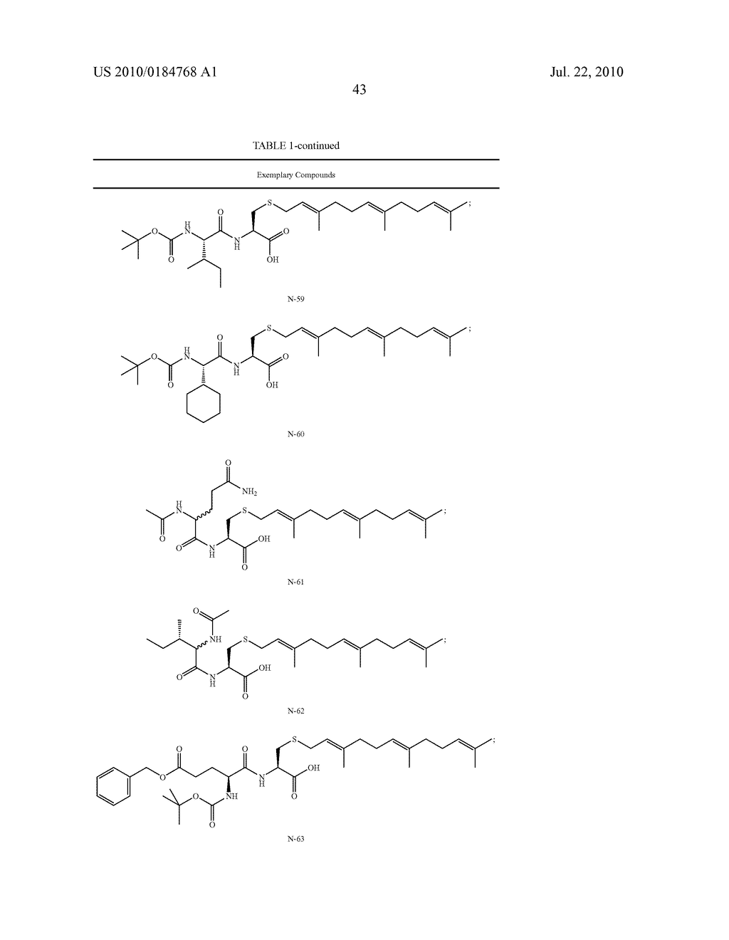 Isoprenyl Compounds and Methods Thereof - diagram, schematic, and image 58