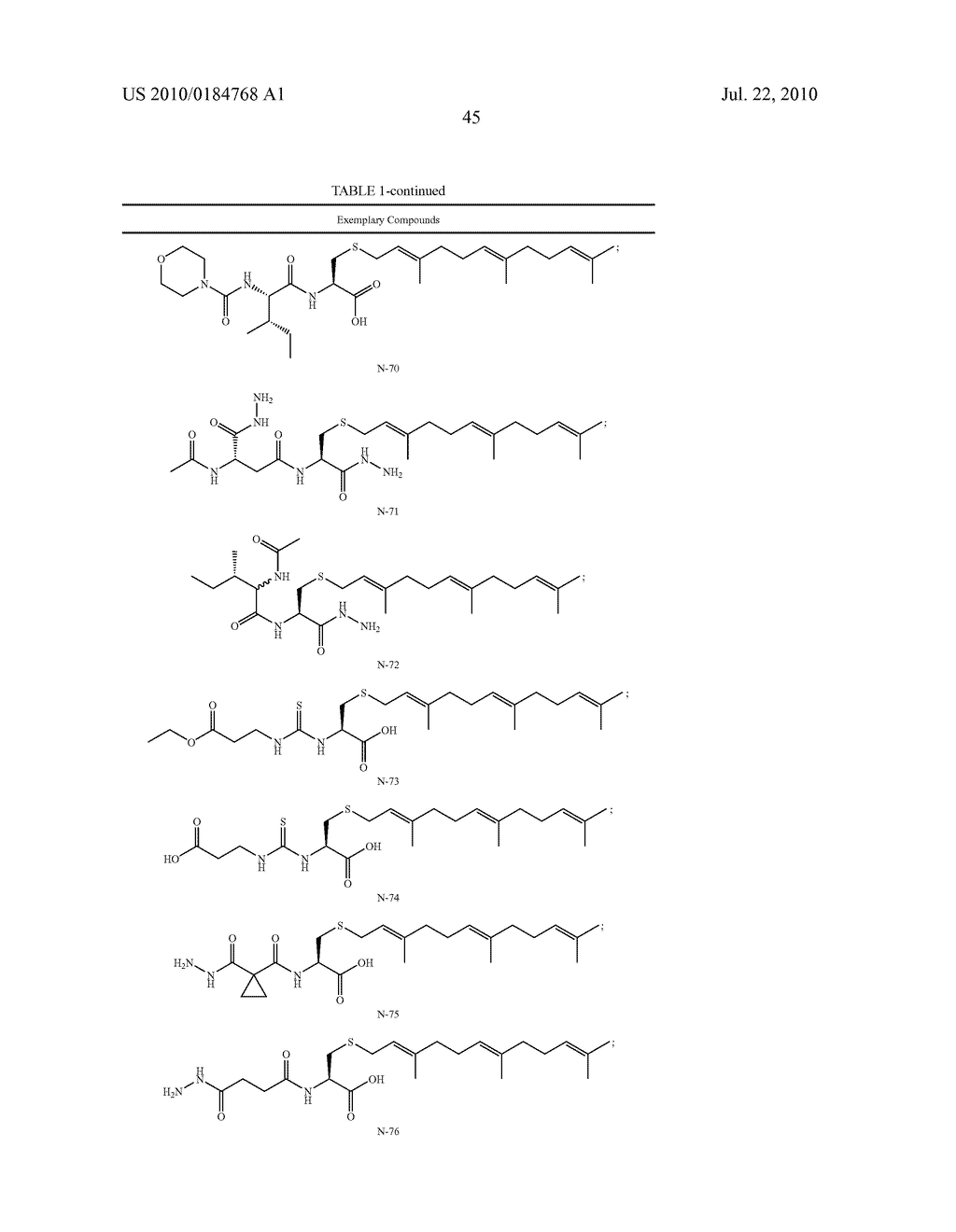 Isoprenyl Compounds and Methods Thereof - diagram, schematic, and image 60