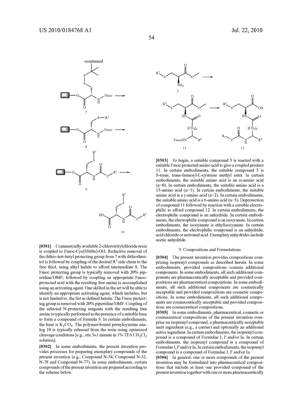 Isoprenyl Compounds and Methods Thereof - diagram, schematic, and image 69
