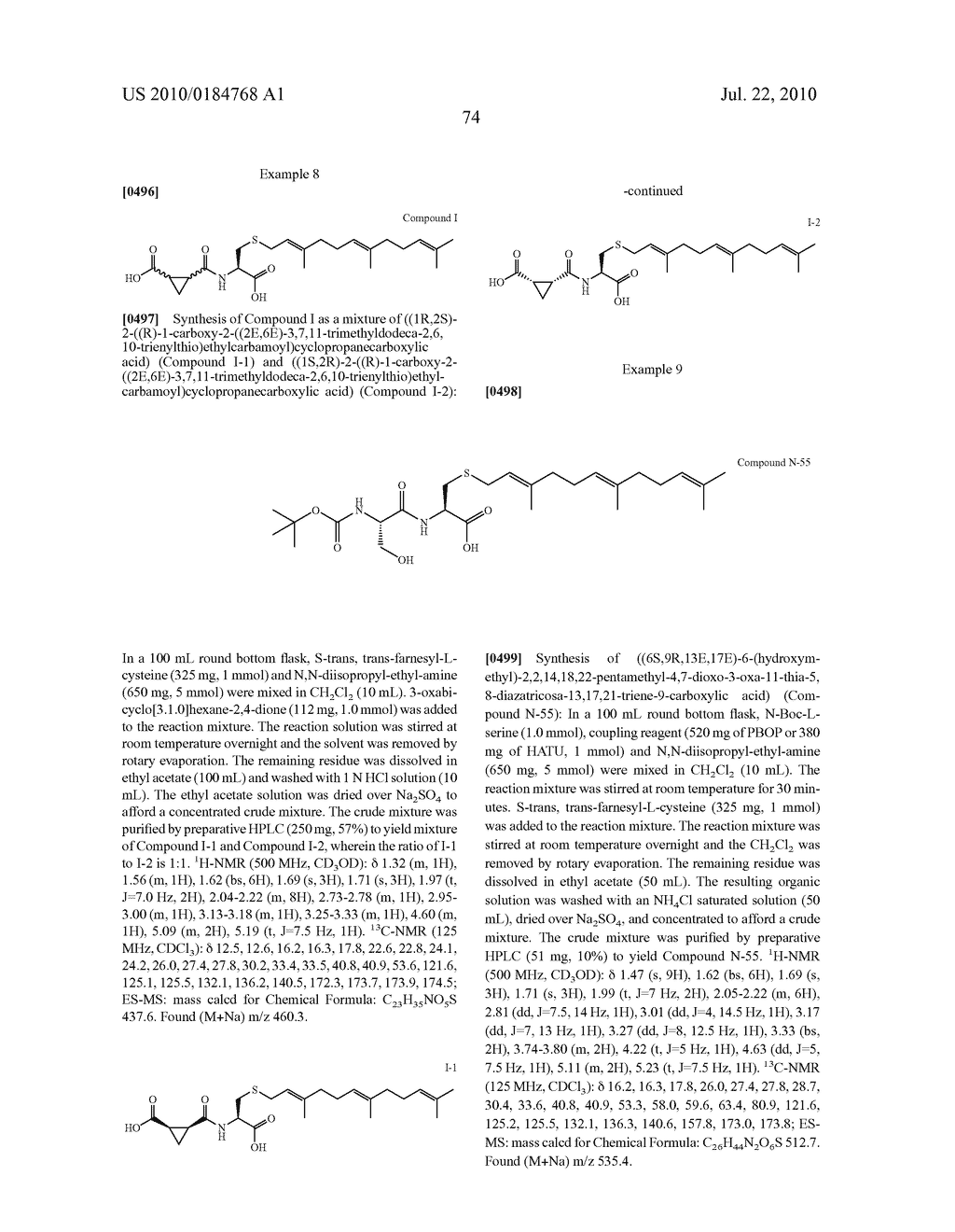 Isoprenyl Compounds and Methods Thereof - diagram, schematic, and image 89