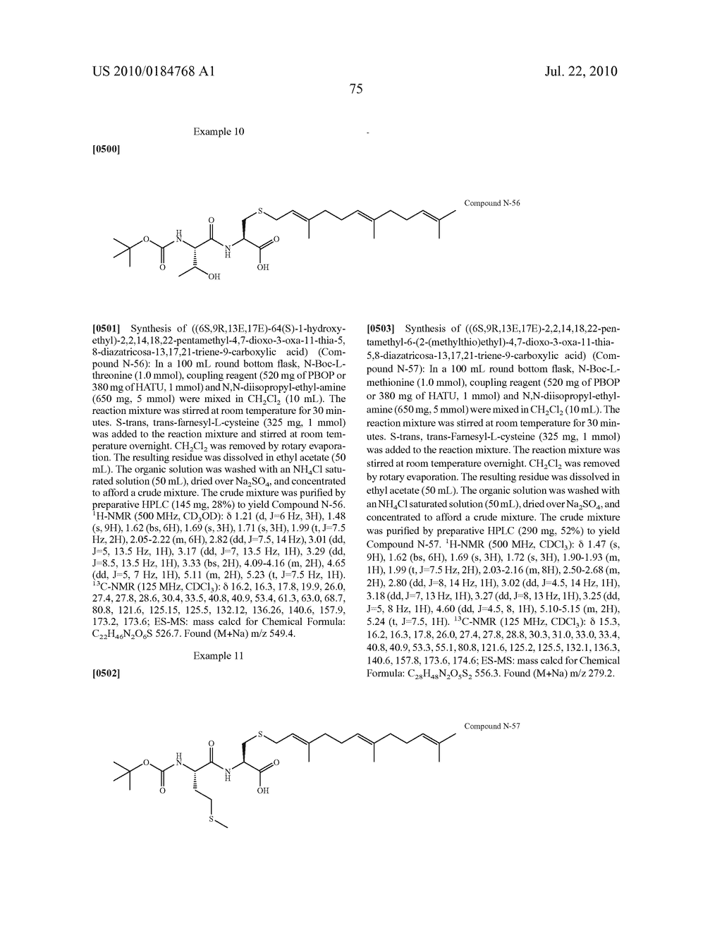 Isoprenyl Compounds and Methods Thereof - diagram, schematic, and image 90