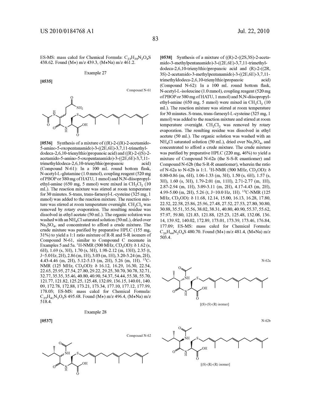 Isoprenyl Compounds and Methods Thereof - diagram, schematic, and image 98
