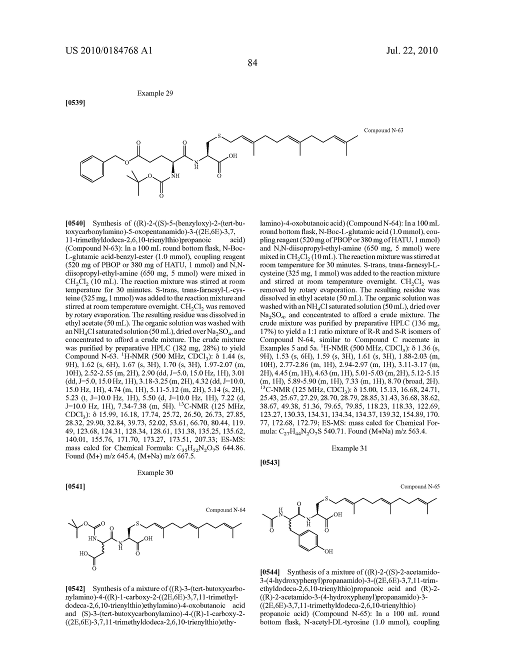 Isoprenyl Compounds and Methods Thereof - diagram, schematic, and image 99