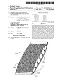 THERMAL REGULATING AND LOAD BEARING INSERTS FOR WEARABLE AND RELATED ITEMS diagram and image