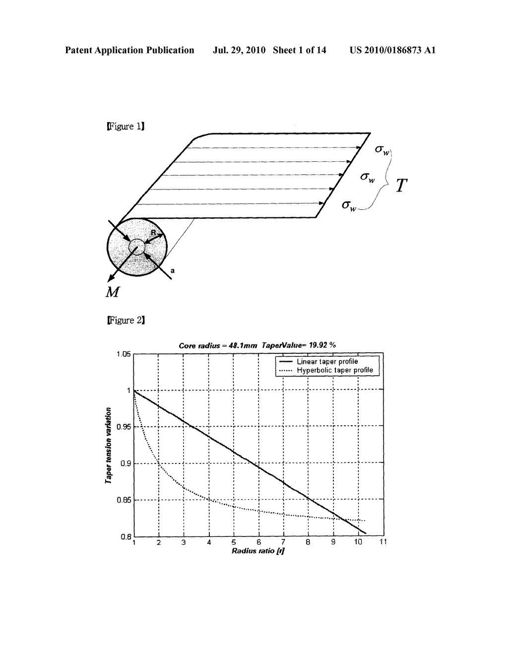 TAPER TENSION CONTROL METHOD OF WINDING PROCESS FOR WEB HANDLING SYSTEM - diagram, schematic, and image 02