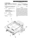 Fixing device for a foldable chassis of an electric walk-substituting vehicle diagram and image