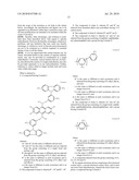 ANTHRACENE COMPOUNDS FOR LUMINESCENT APPLICATIONS diagram and image