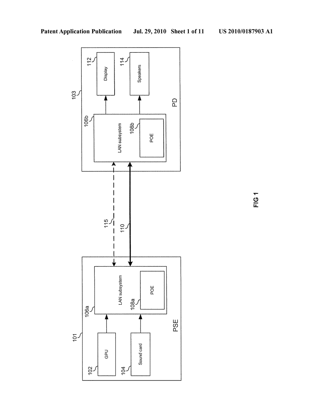 METHOD AND SYSTEM FOR VEHICULAR POWER DISTRIBUTION UTILIZING POWER OVER ETHERNET IN AN AIRCRAFT - diagram, schematic, and image 02