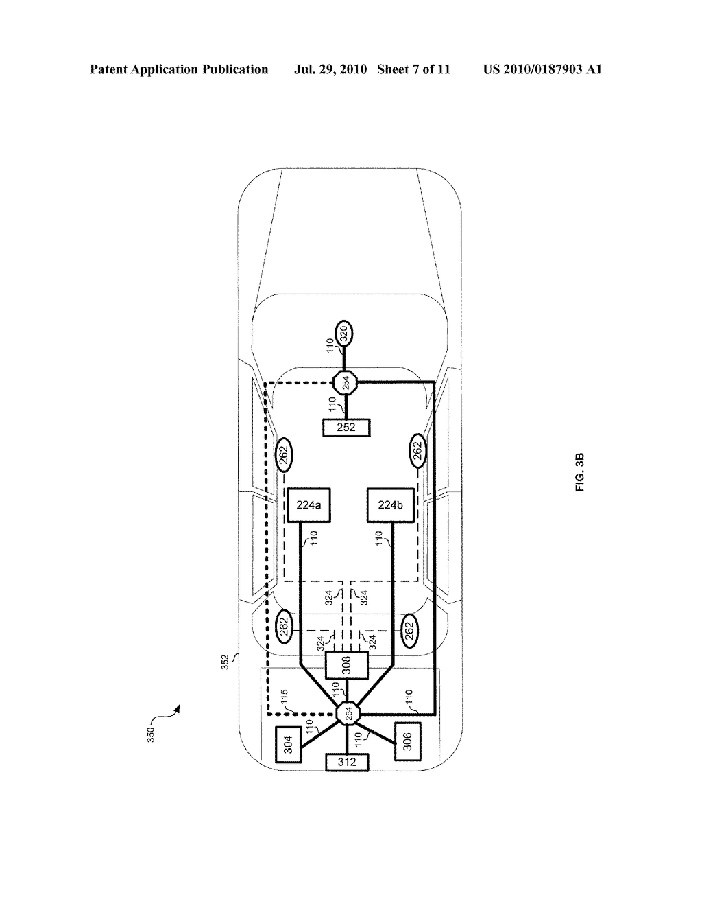 METHOD AND SYSTEM FOR VEHICULAR POWER DISTRIBUTION UTILIZING POWER OVER ETHERNET IN AN AIRCRAFT - diagram, schematic, and image 08