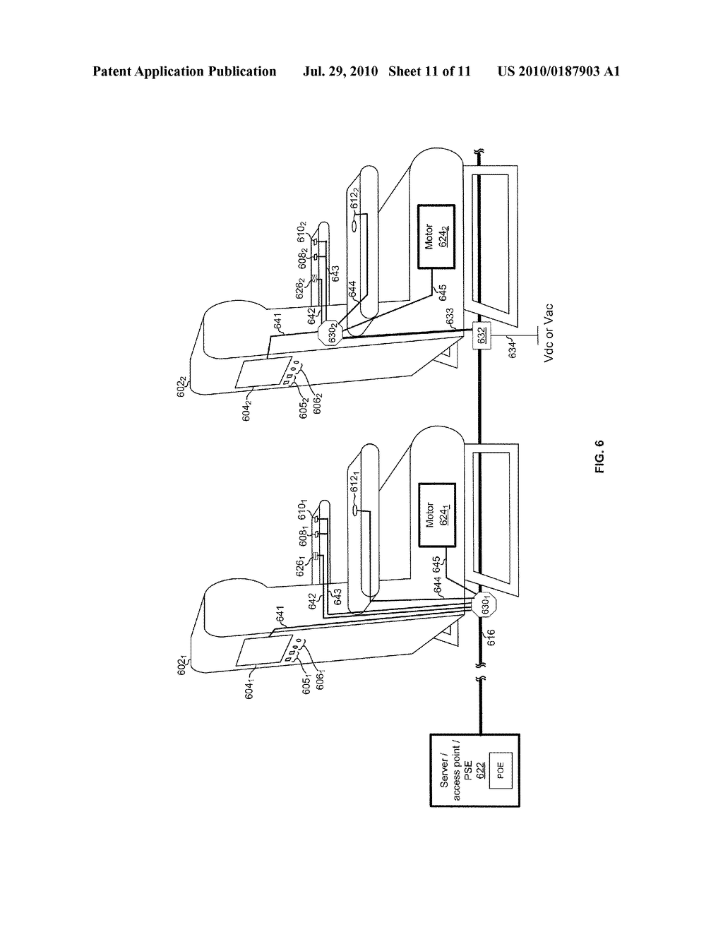 METHOD AND SYSTEM FOR VEHICULAR POWER DISTRIBUTION UTILIZING POWER OVER ETHERNET IN AN AIRCRAFT - diagram, schematic, and image 12