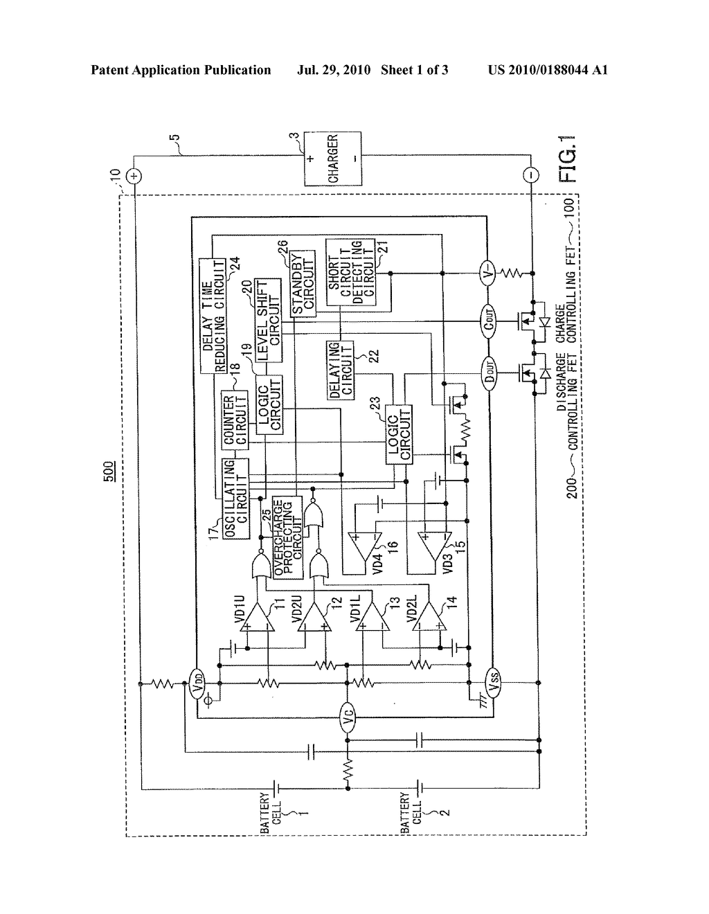 CHARGE/DISCHARGE PROTECTION CIRCUIT, BATTERY PACK INCLUDING CHARGE/DISCHARGE PROTECTION CIRCUIT, AND ELECTRONIC DEVICE THEREOF - diagram, schematic, and image 02