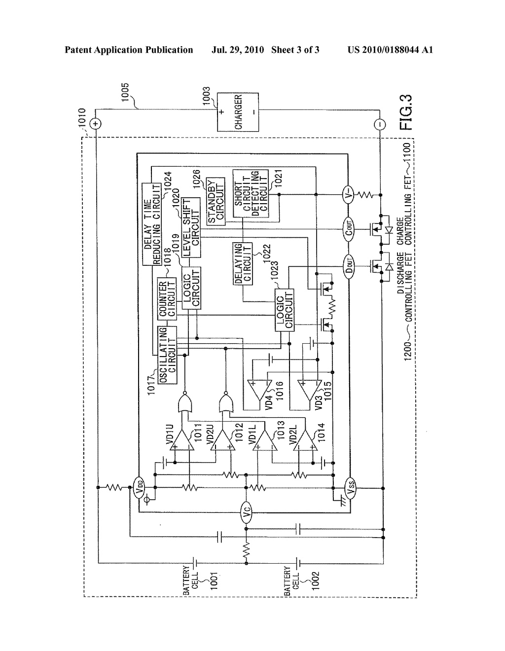 CHARGE/DISCHARGE PROTECTION CIRCUIT, BATTERY PACK INCLUDING CHARGE/DISCHARGE PROTECTION CIRCUIT, AND ELECTRONIC DEVICE THEREOF - diagram, schematic, and image 04