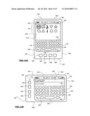 HANDHELD ELECTRONIC DEVICE HAVING A TOUCHSCREEN AND A METHOD OF USING A TOUCHSCREEN OF A HANDHELD ELECTRONIC DEVICE diagram and image