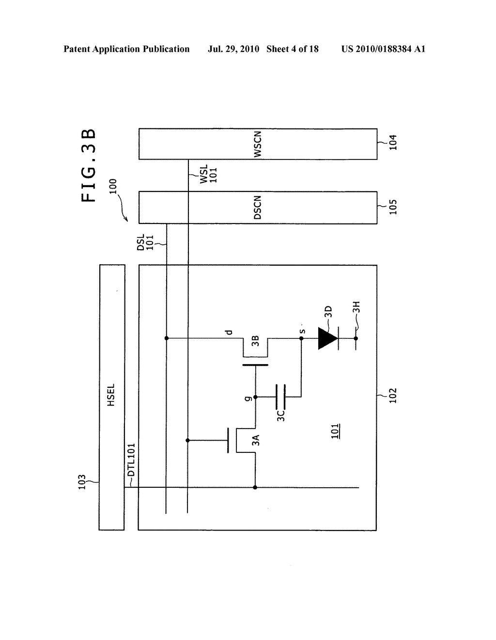 Display apparatus and method of driving same - diagram, schematic, and image 05